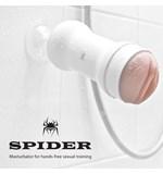 Sextoy - Âm Đạo Giả Gắn Tường Rung Spider Evo - Tặng ngay gel Durex trị giá 90K