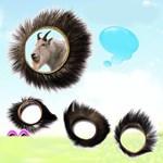 Sextoy - Vòng lông thú mắt trừu - Tăng kích thích điểm G