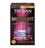 Đồ chơi tình dục - Vòng Rung Trojan Midnight Colection 3 Trong 1 - Tăng khoái cảm cực độ
